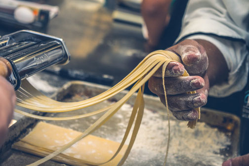 Pastaherstellung, Italien