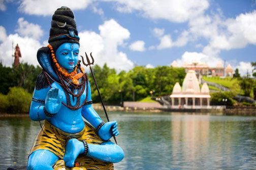 Tempelanlage auf Mauritius