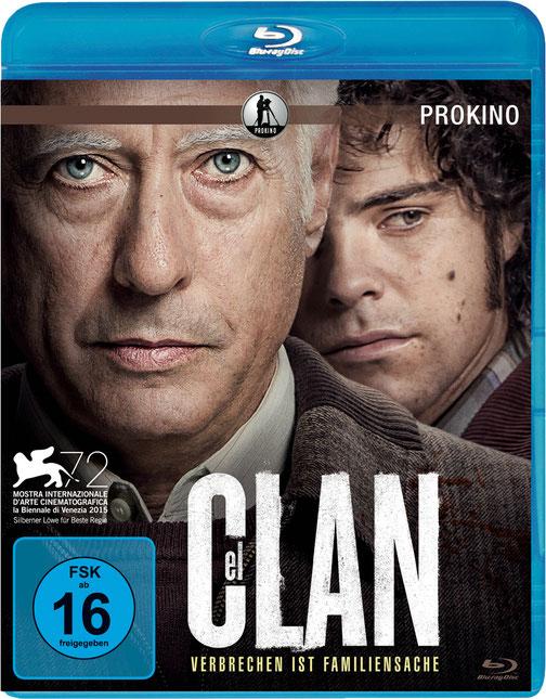 Guillermo Francella - El Clan Blu-ray - Prokino - kulturmaterial - Gewinnspiel