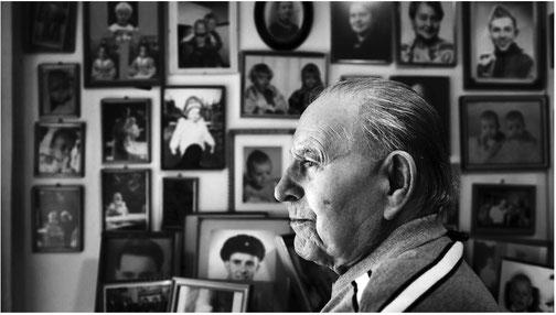 Martin Meholm (99) im Jahre 2015.  Foto: Jan Johannessen - aus dem Originalartikel