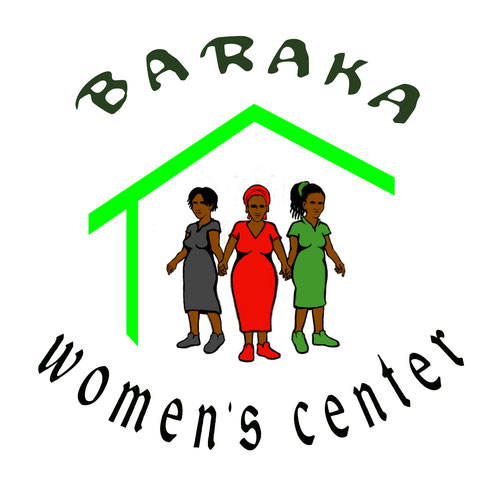 "Baraka Womens Center office banner – 'Baraka"" means ""blessings"" in Kiswahili"