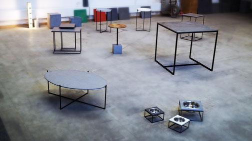fattoAmano Beton Tische Esstisch beton Tisch Wiesbaden