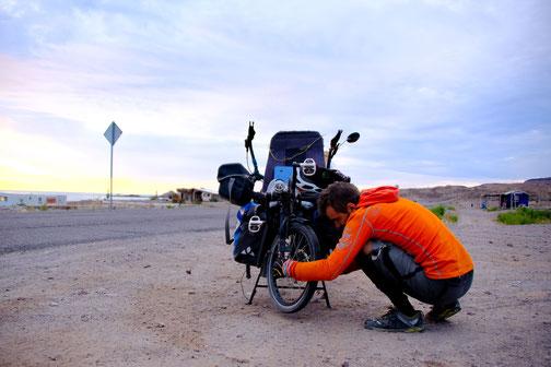 problème mécanique à vélo