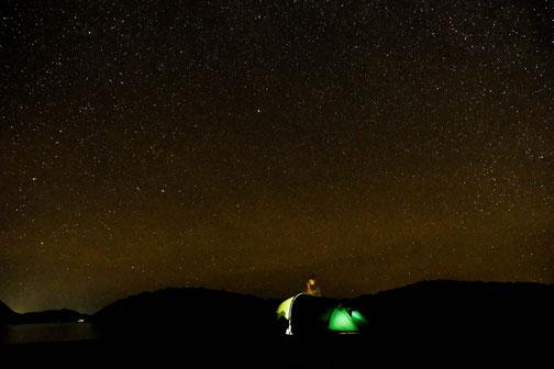 la tente sous les étoiles