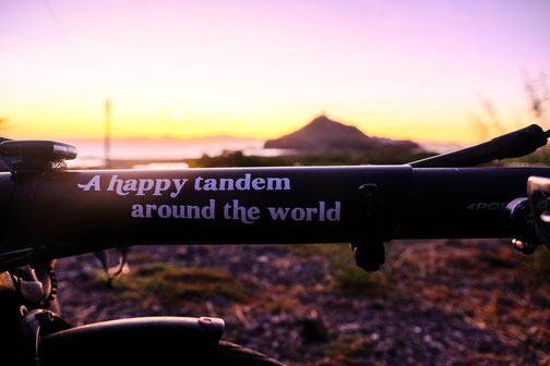 a happy tandem around the world