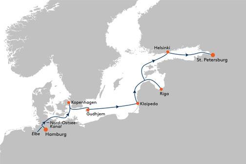 EUX2318 Reise MS EUROPA 2