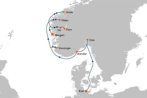 EUX2320 Reise MS EUROPA 2