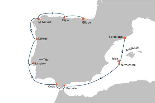 EUX2316 Reise MS EUROPA 2