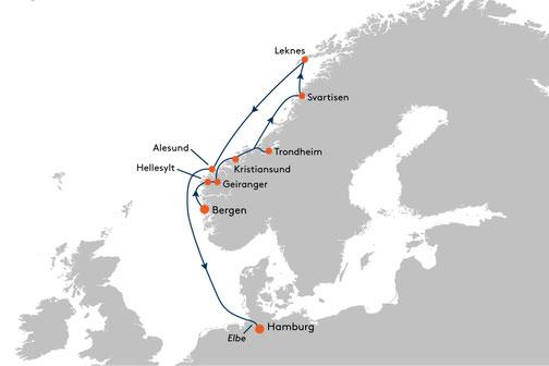 EUX2321 Reise MS EUROPA 2
