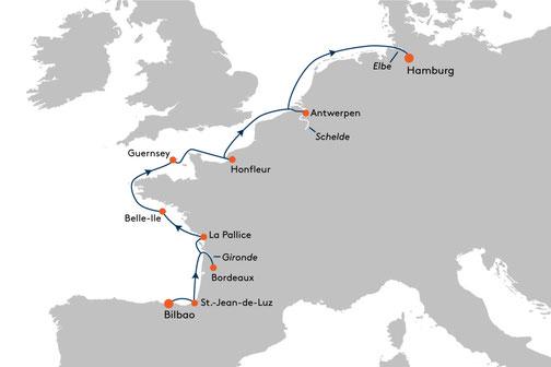 EUX2317 Reise MS EUROPA 2