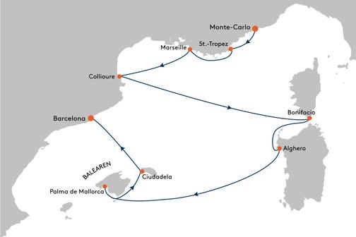 EUX2315 Reise MS EUROPA 2