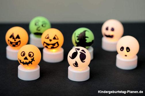Halloween Gespenster DIY