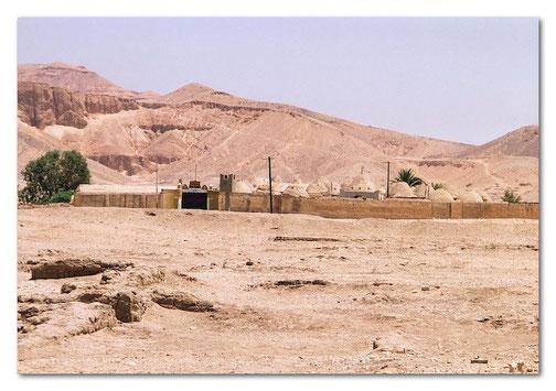 Das koptische Dorf