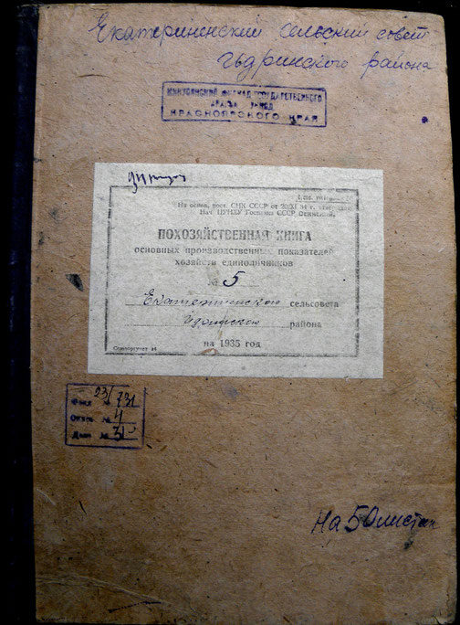 Идринский архив