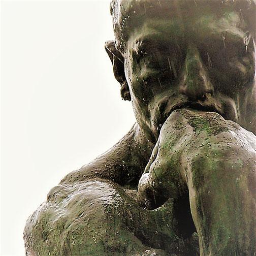 """Auguste  Rodin, """"Il pensatore"""" (1880-1902)"""
