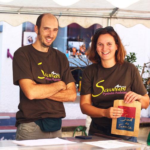 Gaec de Bergnes - Sylvain et Daphné Mervoyer- Campagne sur Aude
