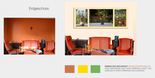 Beispielfoto für ein Therapeutisches Bild- und Farbkonzept
