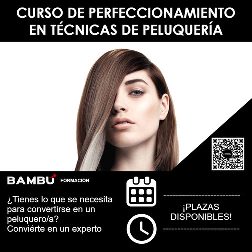 Curso de perfeccionamiento en técnicas de peluquería en La Orotava - Formación Bambú