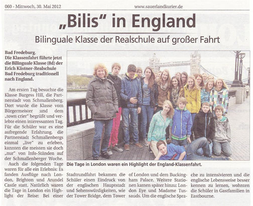 Sauerlandkurier, 30.05.2012
