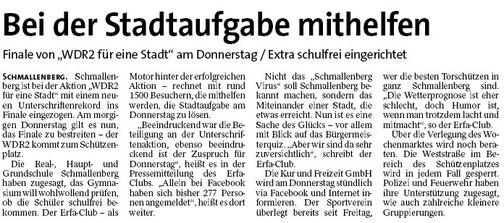 Westfalenpost, 09.03.2012