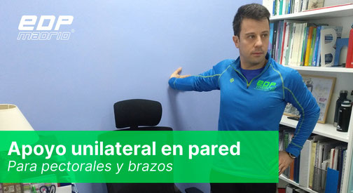 Apoyo unilateral en pared