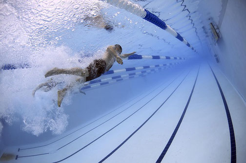 Purebas físicas natación policía local