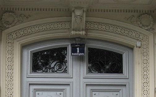 Rudolfsplatz, Wien -  hier wohnten Karl und Vally Weigl. Es war Vally Weigls Elternhaus.