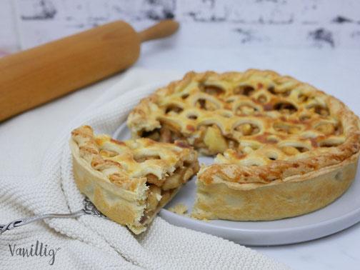 Einfaches Rezept für klassischen American Apple Pie
