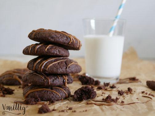 Schokoladen Cookies Rezept