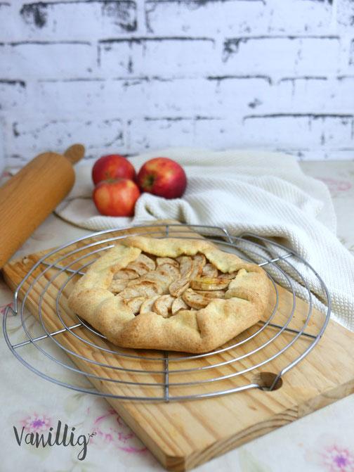 Rezept Apfel-Galette