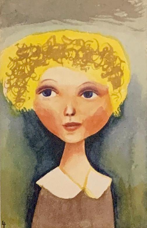 茂田井武 画帳『続・白い十字架』より 1931-35年