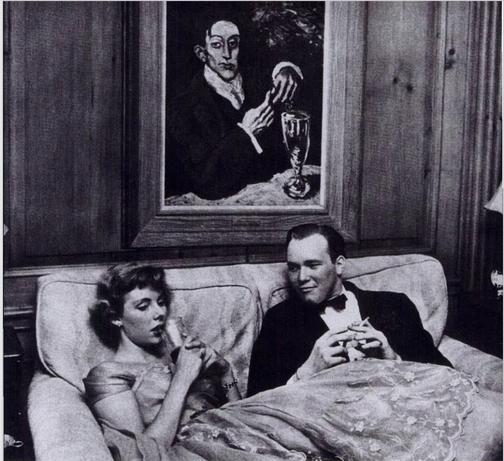 『働く少女-ベッツィーフォンフォンテンベルク』(1950年)(Stanley Kubrick: Visual Poet 1928-1999より)
