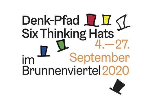 Denk-Pfad Six Thinking Hats | im Brunnenviertel | 4.-27. September 2020