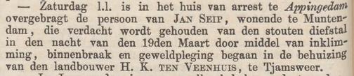 Groninger courant 15-04-1857