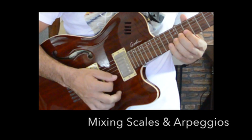 Economy Picking Bootcamp - Mixing Scales and Arpeggios