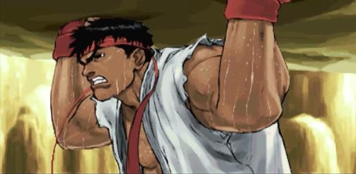 Street FighterⅢ3rd  エンディングより