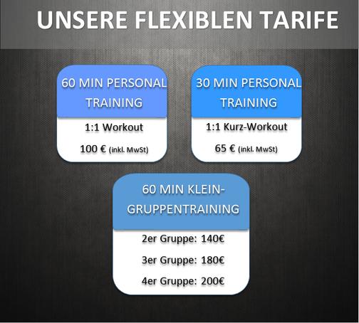 Flexible Tarife