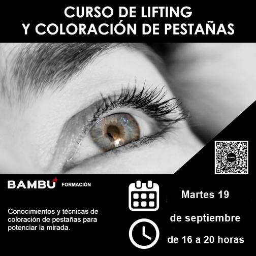Cursos de Lifting y coloración de pestañas en Tenerife norte