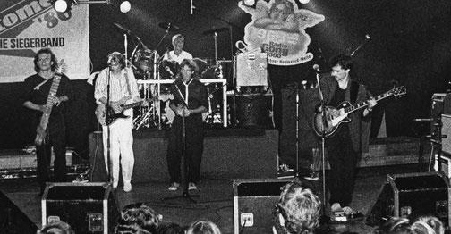 Von links: Franz Schmid, Gerald Impelmann, Jan Zelinka, Charlie Woodward, Christian Schneiderbauer