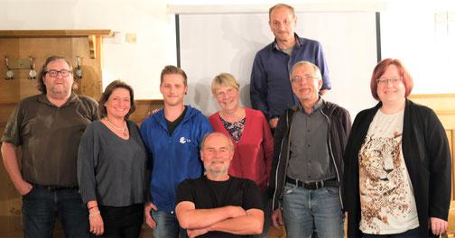 Die Vorstandschaft der KG-Forchheim am 22.09.2021 (Foto © Werner Kiermeier)
