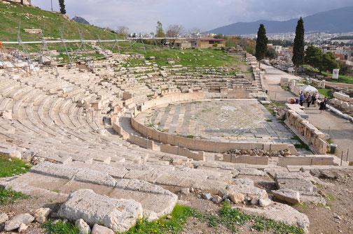 Théâtre de Dionysos, Athènes (Réutilisation libre de droits)