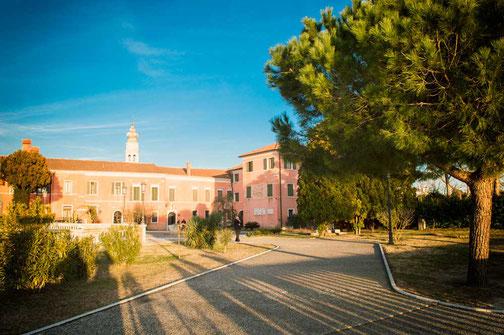 Isola San Lazzaro degli Armeni, Kloster der Armenier, Venedig, Lagune, Italien