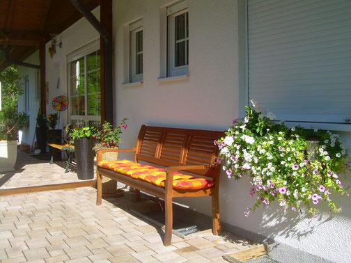 Hauseingang Landhaus Bergidyll ****
