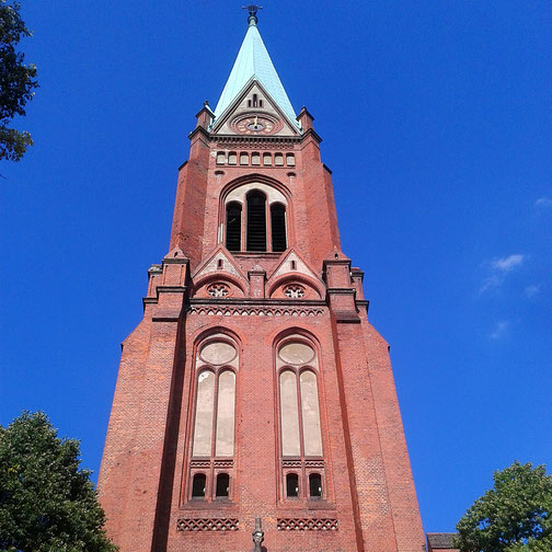 Neue Nazarethkirche am Leopoldplatz - Berlin Wedding