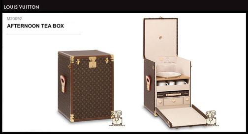 M20092 - Malle thé Louis Vuitton prix neuf 35 000 euros