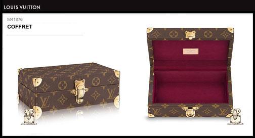 M41876 - Coffret Louis Vuitton prix 1650 euros neuf