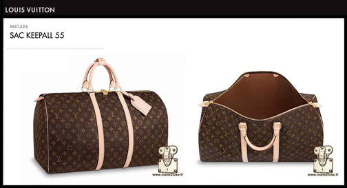 Louis Vuitton Keepall 55 New Bag Price M41424