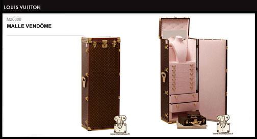 M20300 - Malle Vendôme Louis Vuitton prix neuf 190000 euros