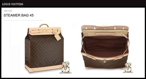 Steamer bag Louis Vuitton prix du neuf M41126