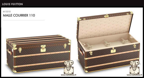 M13210 - Mail trunk 110 price of new Louis Vuitton 25,000 euros